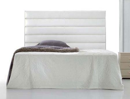 Cabecero de cama en piel blog de artesania y decoracion - Cabeceros de cama tapizados en piel ...