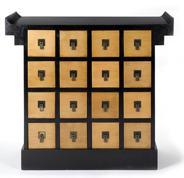 Consola multi cajones blog de artesania y decoracion for Muebles lacados chinos