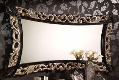 Espejo bicolor blog de artesania y decoracion - Artesania y decoracion ...