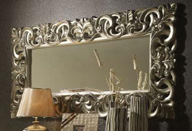 Espejo plata grande blog de artesania y decoracion for Espejo ovalado plata