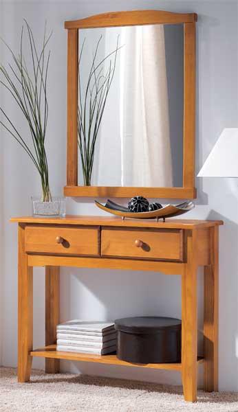 Recibidor provenzal blog de artesania y decoracion - Mueble recibidor rustico ...