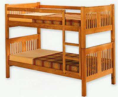 Cama litera pino blog de artesania y decoracion - Cama litera de madera ...