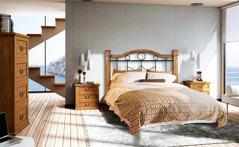 Dormitorio rustico forja indo blog de artesania y decoracion - Decoracion dormitorio rustico ...