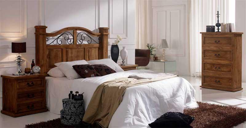 Dormitorio rustico forja terrak blog de artesania y for Dormitorios rusticos en blanco