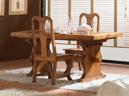 Mesa rustica convento blog de artesania y decoracion for Mesas de comedor rusticas modernas