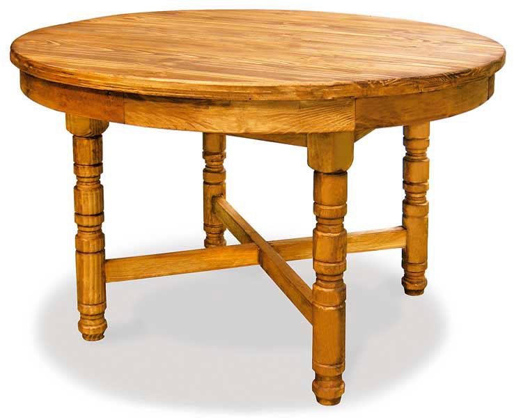 Mesa rustica redonda extensible blog de artesania y decoracion - Mesa comedor rustica extensible ...