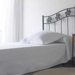Cabecero cama de forja diseño