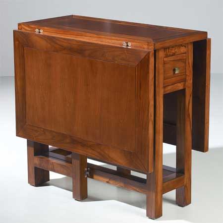 Mesa alas con cajon blog de artesania y decoracion - Mesas con alas abatibles ...