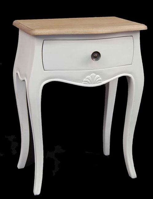 Mesilla noche blanca paris ii blog de artesania y decoracion - Mesilla de noche blanca ...