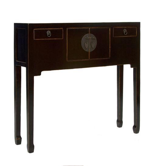 Mueble recibidor oriental negro blog de artesania y - Mueble consola recibidor ...
