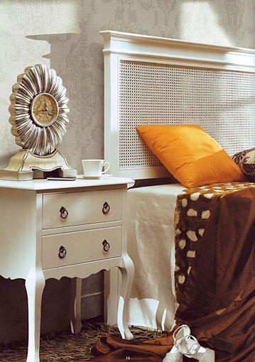 Cabecero rejilla blanco blog de artesania y decoracion - Cabeceros de madera blanco ...