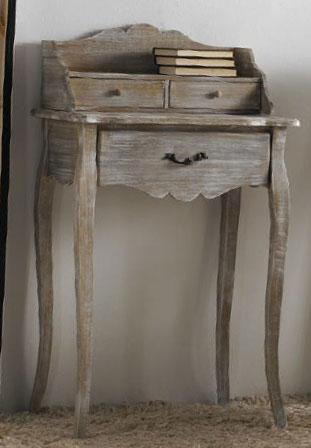 Buro madera decapado blog de artesania y decoracion - Mueble blanco decapado ...