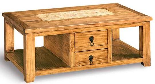 Mesa de centro marmol blog de artesania y decoracion - Mesas centro rusticas ...