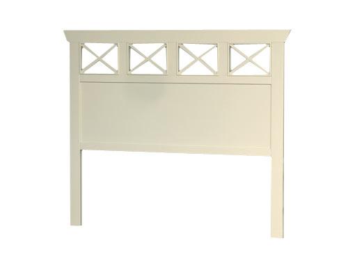 Cabecero cruces madera blog de artesania y decoracion - Cabeceros de madera blanco ...