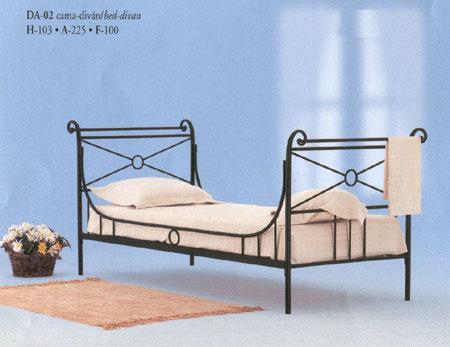Cama divan forja atenas blog de artesania y decoracion - Cama divan forja ...