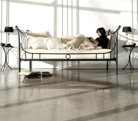 Cama divan nuria forja blog de artesania y decoracion for Divan cama completo