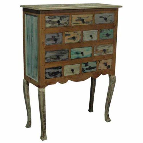 Comoda patas multicolor thrissur blog de artesania y for Muebles vintage economicos