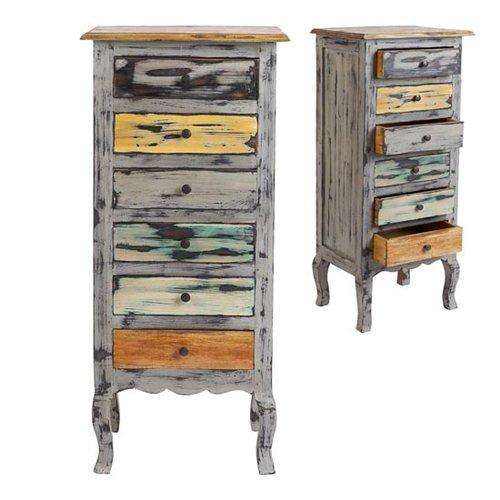 Sinffonier multicolor thrissur blog de artesania y - Muebles envejecidos ...