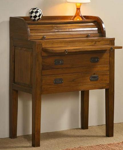 Buro escritorio teca dasten blog de artesania y decoracion for Muebles de teca interior