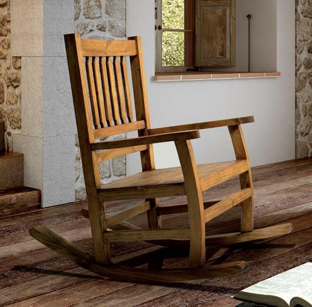 Mecedora madera rustica lopa blog de artesania y decoracion for Mecedora de madera