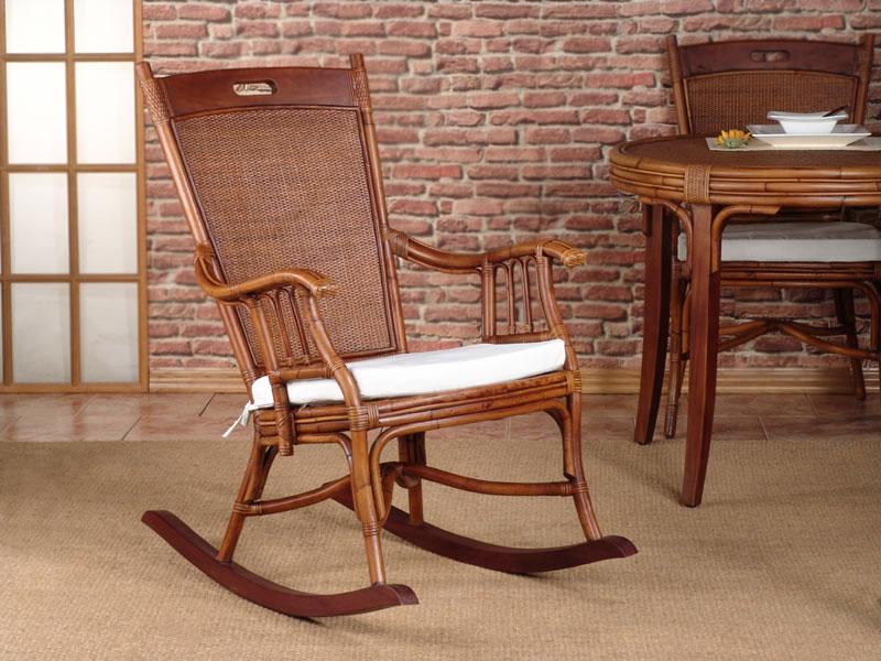 Mecedora rattan y madera blog de artesania y decoracion for Mecedora de madera