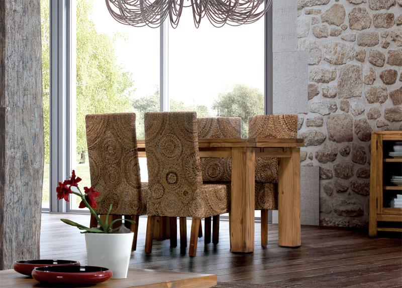 Mesa comedor extensible caben rustica blog de artesania for Mesas rusticas comedor