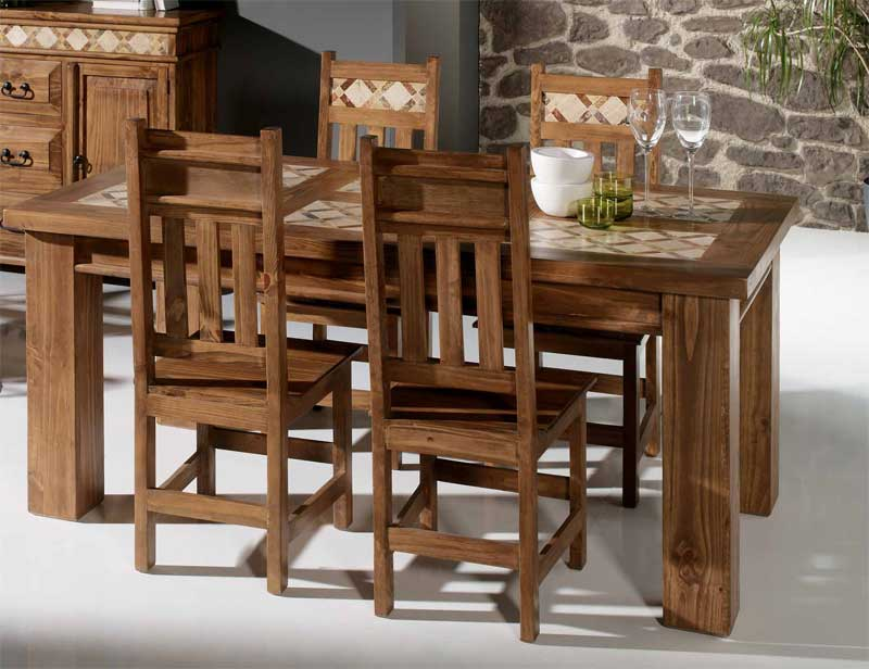 Mesa comedor marmol 2 rustica blog de artesania y decoracion for Precios de mesas para comedor