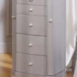 Mueble joyero color plata