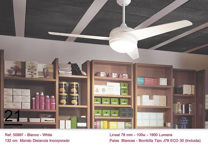 Ventilador de techo blanco con mando a distancia blog de artesania y decoracion - Ventilador de techo mando a distancia ...
