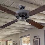 Ventilador techo nogal anticuario