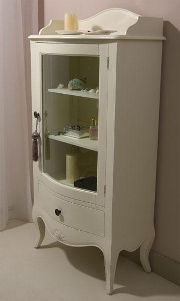 Vitrina blanca peque a paris blog de artesania y decoracion - Vitrinas pequenas ...