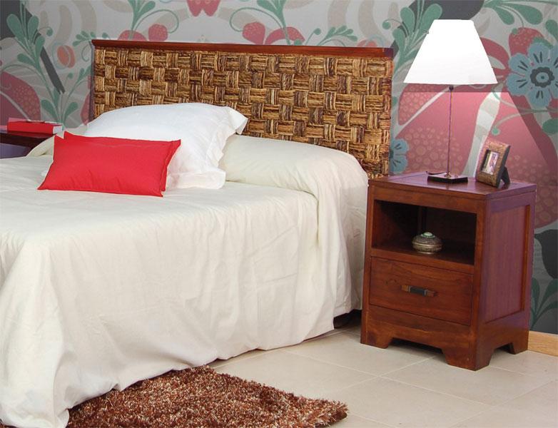 Cabecero abaca con repisa blog de artesania y decoracion - Artesania y decoracion ...