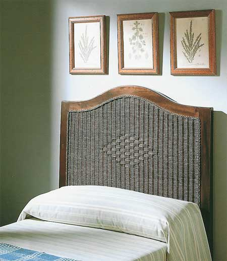 Cabecero madera rattan blog de artesania y decoracion - Artesania y decoracion ...