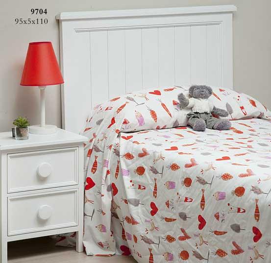 Cabecero para cama de 90 grimm blog de artesania y - Cabeceros de cama blancos ...