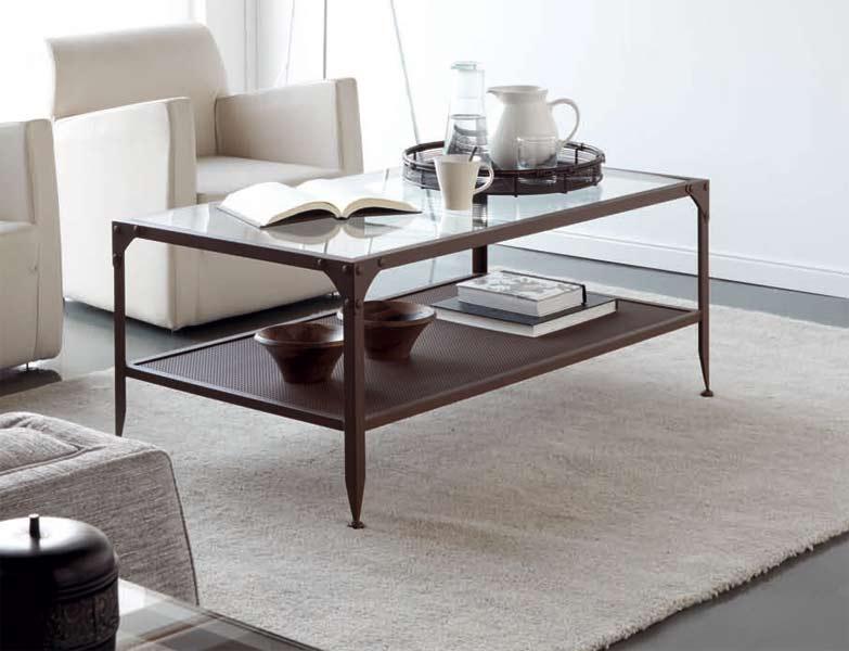 mesa centro ronda forja blog de artesania y decoracion