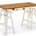 Mesa escritorio con cajones regulable