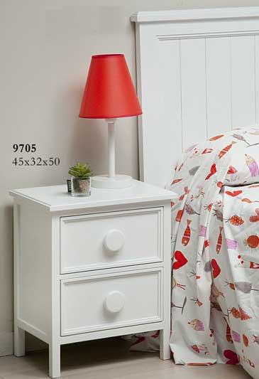 Mesilla noche blanca grimm blog de artesania y decoracion - Mesilla de noche blanca ...