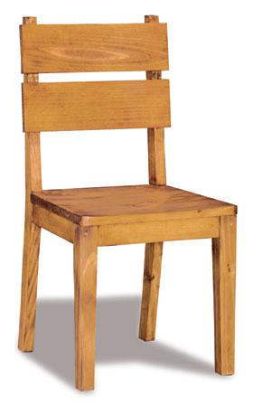 Silla san francisco rustica blog de artesania y decoracion for Sillas modelos madera