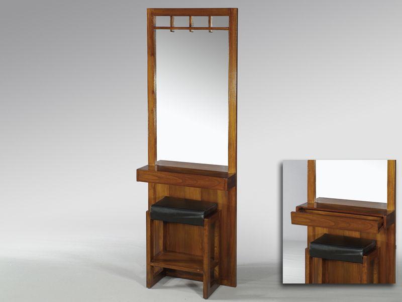 Mueble recibidor con banco blog de artesania y decoracion for Muebles recibidor con banco