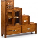 Mueble escalera colonial flash