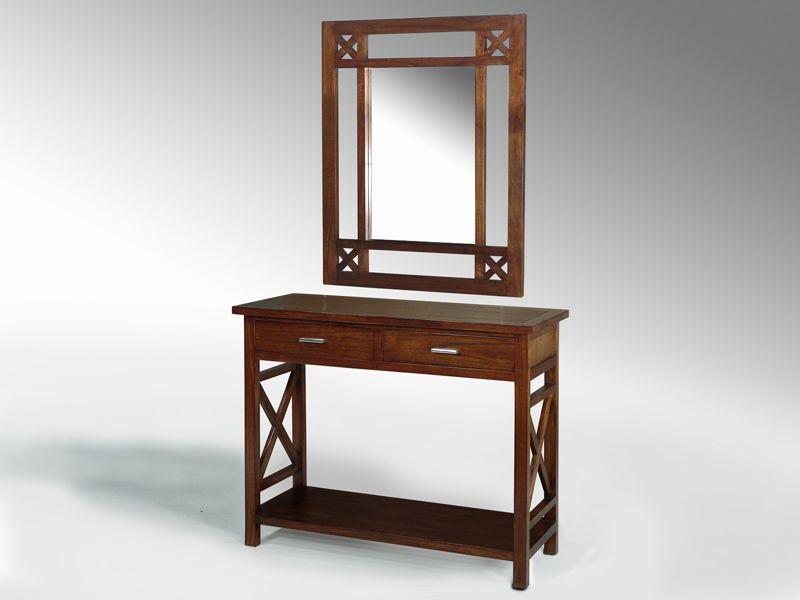 Mueble recibidor cruces blog de artesania y decoracion - Mueble recibidor madera ...