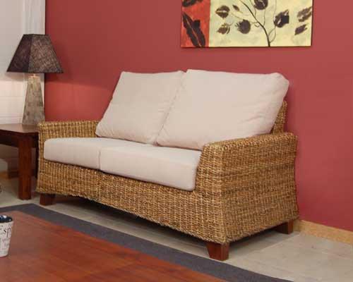 Sofa 2 plazas patalla blog de artesania y decoracion - Sofas de mimbre ...
