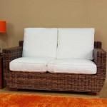 Sofa 2 plazas Mimbre ursula