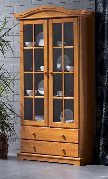 Vitrina provenzal 2 puertas blog de artesania y decoracion - Mueble vitrina ikea ...