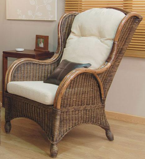 Sillon orejero monza blog de artesania y decoracion - Sofas de mimbre ...