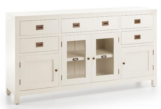 Aparador blanco virgin blog de artesania y decoracion for Muebles coloniales blanco