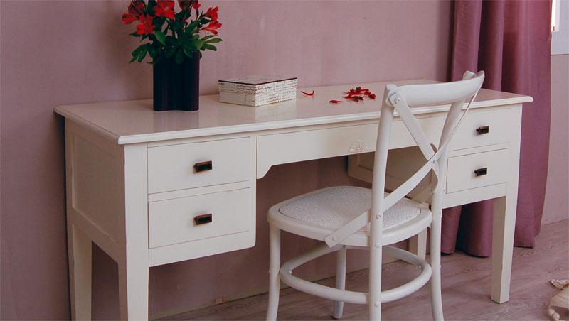 Escritorio blanco monaco blog de artesania y decoracion - Mesa escritorio infantil ...