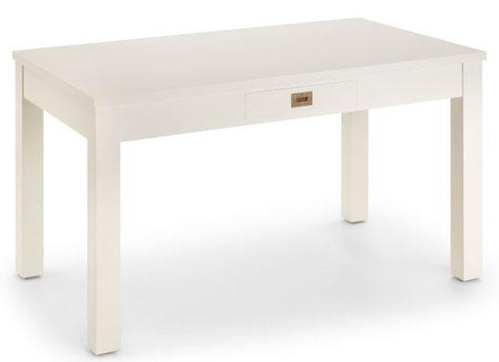 Mesa comedor blanca virgin blog de artesania y decoracion for Mesa comedor blanca