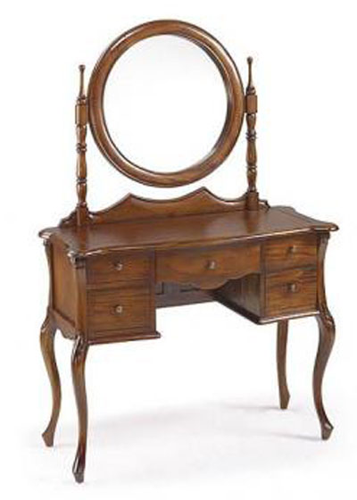 Muebles tocador espejo madera maciza maquillaje moderno for Espejo con mueble