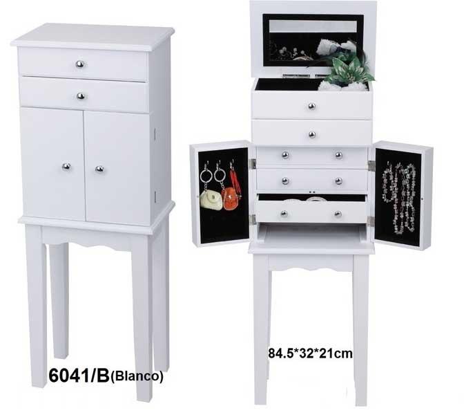Mueble joyero con pie blog de artesania y decoracion - Mueble espejo joyero ...